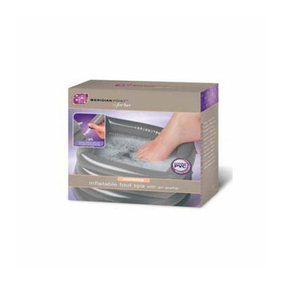 Meridian Point Soothing Inflatable Foot Spa with Air Pump
