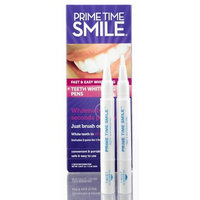 Prime Time Smile Teeth Whitening Pen, 2 count