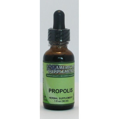 Propolis No Chinese Ingredients American Supplements 1 oz Liquid