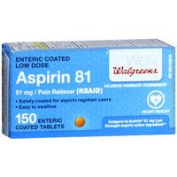 Walgreens Enteric Aspirin 81Mg Tablets