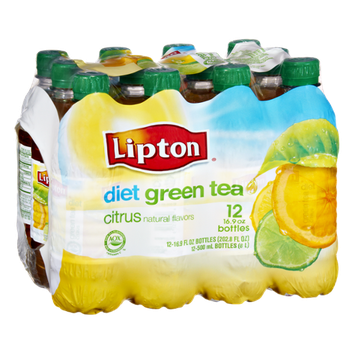 Lipton Diet Citrus Green Tea- 12 PK