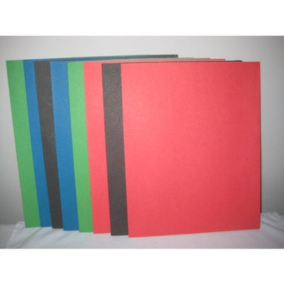Assorted Staples Paper Folders (8 pack)