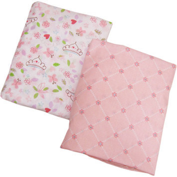 Disney Baby Bedding Disney - Princess Happily Ever After Crib Sheets, 2-Pack