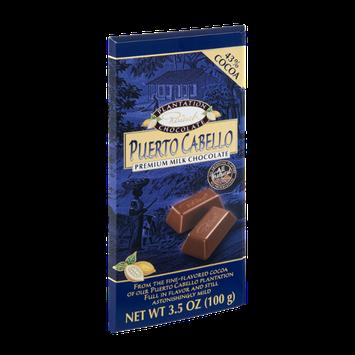 Rausch Puerto Cabello 43& Cocoa Premium Milk Chcolate Bar