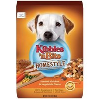 Kibbles 'n Bits Homestyle Roasted Chicken and Vegetable for Dogs, 17.6-Pound