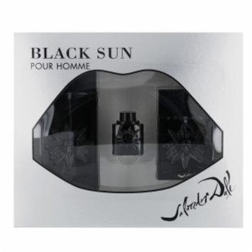 Salvador Dali Black Sun Gift Set 3 Piece, 1 set
