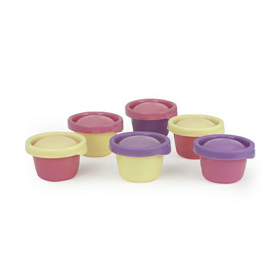 The First Years Ziploc Snack Cups 4.5 oz.