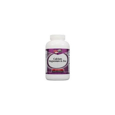Nutraceutical Sciences Institute  NSI Vitacost Calcium Magnesium & Zinc -- 300 Tablets