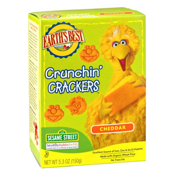 Earth's Best Cheddar Crunchin' Crackers