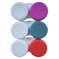 up & up up&up Contact Lens Case - Pink/Peach/Teal (3 Count)
