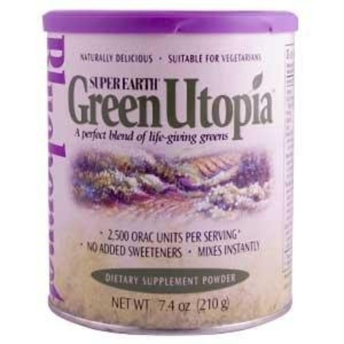 Super Earth Green Utopia Bluebonnet 7.4 oz Powder