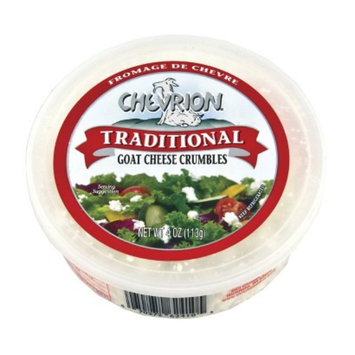 DCI Chevrion Traditional Goat Cheese Crumbles 4 oz