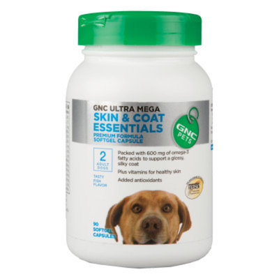 GNC Pets GNC Ultra Mega Skin & Coat Essentials Adult Dog Softgel Capsule