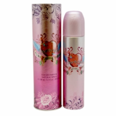Cuba Heartbreaker Eau de Parfum Spray, 3.4 fl oz