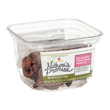 Nature's Promise Milk Chocolate Caramel Almond Delights
