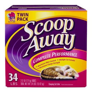 Fresh Step Scoop Away Complete Performance Cat Litter - 34 lb.