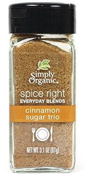 Frontier Natural Foods Frontier Natural Products 15740 Simply Organic Spice Right Everyday Blends Cinnamon Sugar Trio
