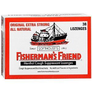 Fisherman's Friend Menthol Cough Suppressant/Oral Analgesic Lozenges