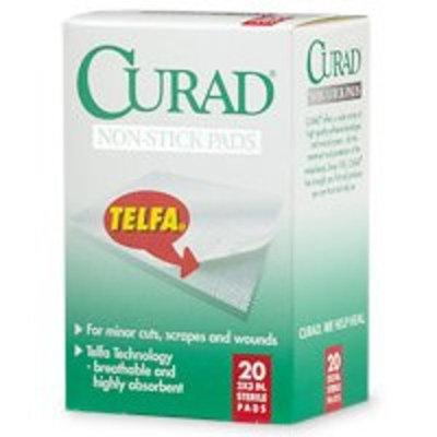 Telfa Non-Stick Sterile Pads by Curad, Size: 2 In X 3 In - 20 ea