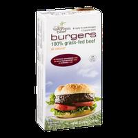 Bill Kurtis Tallgrass Beef Ready To Cook Burgers 1/3 Pound Each