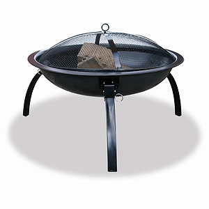 Uniflame Outdoor Firebowl with Folding Legs