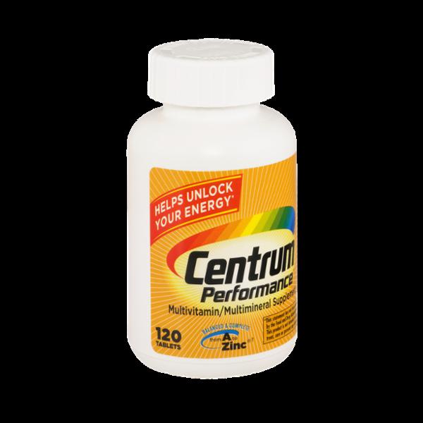 Centrum Performance Multivitamin/Multimineral Supplement - 120 Tablets