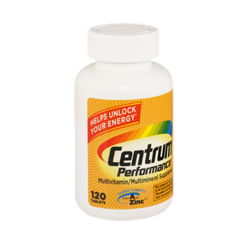 Centrum Performance Multivitamin/Multimineral Supplement - 120 Tablets