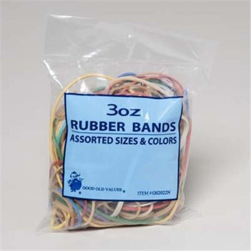 Bulk Buys DDI 1122252 Rubber Bands 3 Oz. Bag Case Of 72