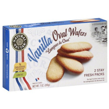 Natural Nectar Patisserie Vanilla Oval Wafers, 7 oz, (Pack of 12)