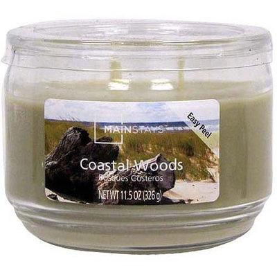 Mainstays 11.5 oz Candle, Coastal Wood