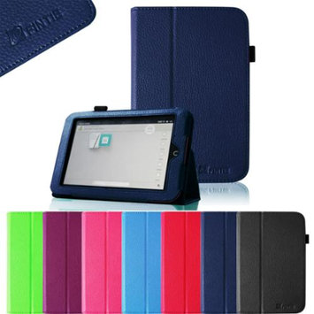 Fintie Slim Fit Folio Case for Barnes & Noble Nook HD 7 Tablet (Support Auto Sleep/Wake Function), Navy
