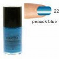 Peacock Blue Nail Polish - Water Based Nail Polish, 0.5 oz(Suncoat)