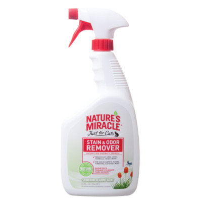 Nature's Miracle® Just for Cats Flowering Meadow Scented Stain & Odor Remover