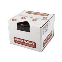 Jaguar Plastics R4347HH Black Low Density 2.0 Mil Repro Can Liners