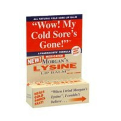 Morgans Morgans Lysine Lip Balm Medicated, 0.17 oz