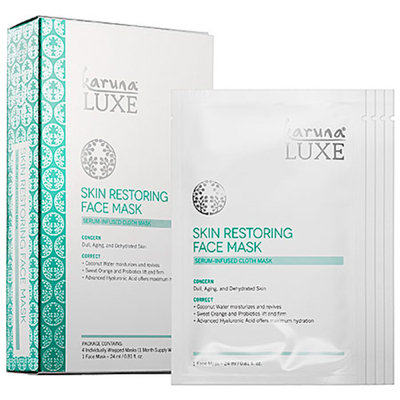 Karuna Luxe Skin Restoring Treatment Masks
