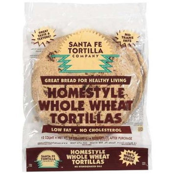 Santa Fe Tortilla Company: Homestyle Whole Wheat Tortillas, 24 oz