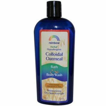 Rainbow Research Colloidal Oatmeal Bath and Body Wash Fragrance Free 12 oz