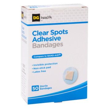 DG Health Clear Spots Adhesive Bandages, 50 ct - 7/8