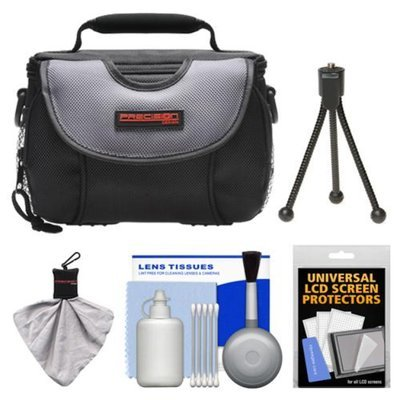 Precision Design PD-C15 Digital Camera Case with Cleaning & Accessory Kit for Nikon 1 J1, V1 Digital Camera