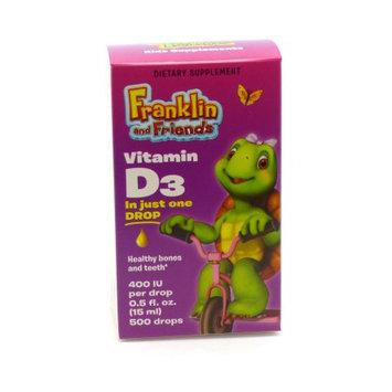 Treehouse Vitamin D3 400 IU Liquid, Kids Supplement, 1.7 oz, Natural Factors