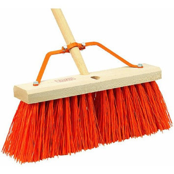Harper 16in Extra Stiff Push Broom (9816A)