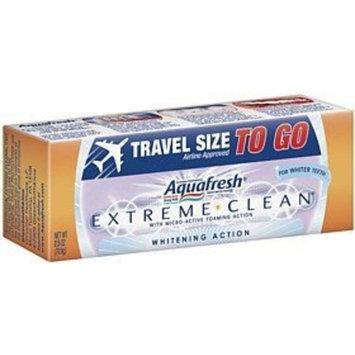 Aquafresh Extreme Clean Whitening Action Fluoride Toothpaste-2.5 oz