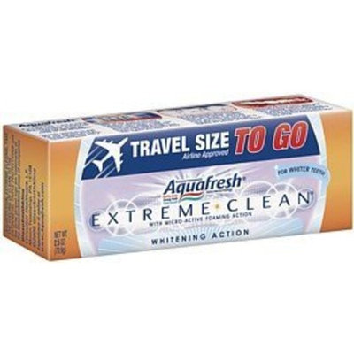 Aquafresh Extreme Clean Whitening Action Fluoride Toothpaste-2.5 oz