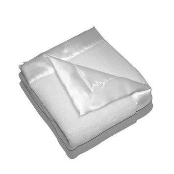 Elegant Baby Plush Microfiber Blankie - White 88009 ELEGANT BABY