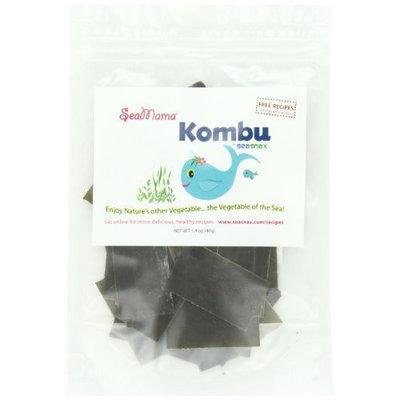 Seasnax Sea Mama, Kombu Seaweed , 1.4 oz (pack of 12 ) ( Value Bulk Multi-pack)