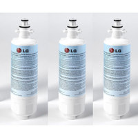 LG LT700P-3-KIT Replacement 200-Gallon Refrigerator Water Filter, 3pk