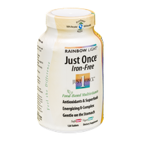 Rainbow Light Just Once Iron-Free Tablets - 120 CT