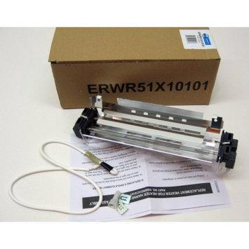 Erp GE HOTPOINT REFRIGERATOR DEFROST HEATER & BRKT WR51X10101 NEW!
