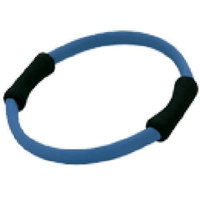 Hugger Mugger Pilates Ring with Foam Grips, Blue